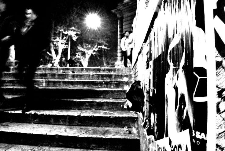 ..c'è chi scende... photo by Flò