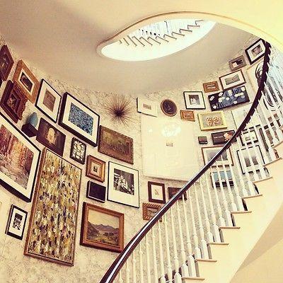 108 best Gallery Walls Gone Wild images on Pinterest   Frames ...