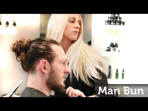 Orlando Bloom Long Curly hair & Top Knot ★ Professional Man Bun - YouTube