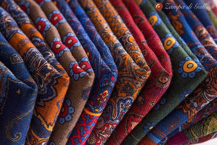 Pocket Squares by Calabrese 1924 Only at Zampa di Gallina Shop here : http://www.zampadigallina.com/pocketsquares.htm