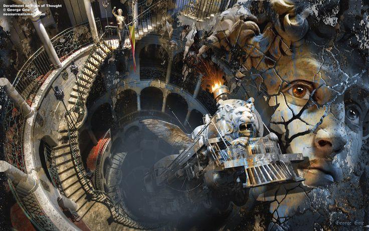 George Grie Famous Surrealist Artists | Neo Surrealism Art ...