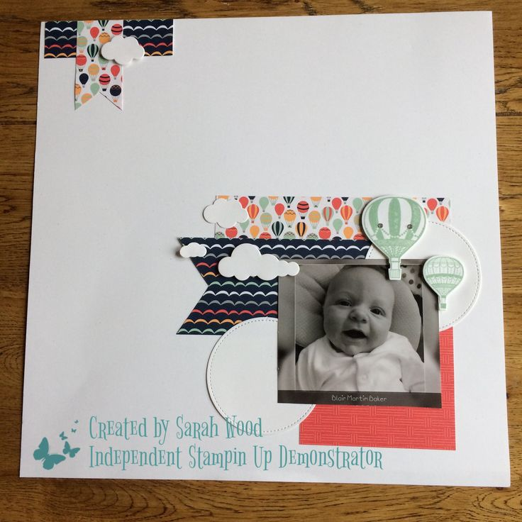 Created using the free sale-a-ration DSP Carried Away and Lift Me Up stamp set and matching framelits. By Sarah Wood Independent Stampin Up Demonstrator UK.