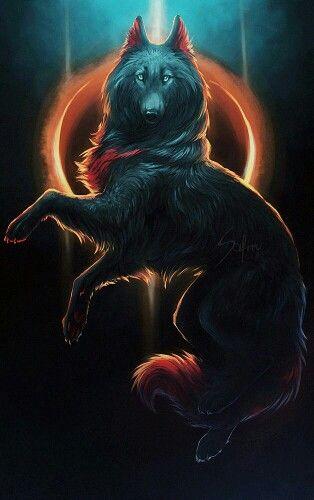 Moonlight wolf