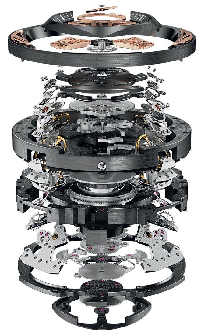 The $1.1 Million Roger Dubuis Excalibur Quatuor Watch   HUH.
