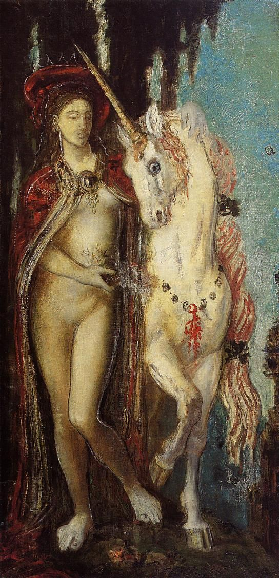 The Unicorn by Gustave Moreau, 1885