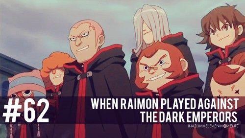 #62 Inazuma Eleven Moments: When Raimon played against the Dark Emperors.