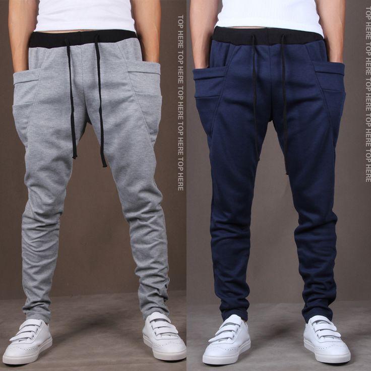 Mens Joggers 2017 Male Trousers Men Pants Mallas Hombre Large pockets Sweatpants Jogger Pantalones XXL