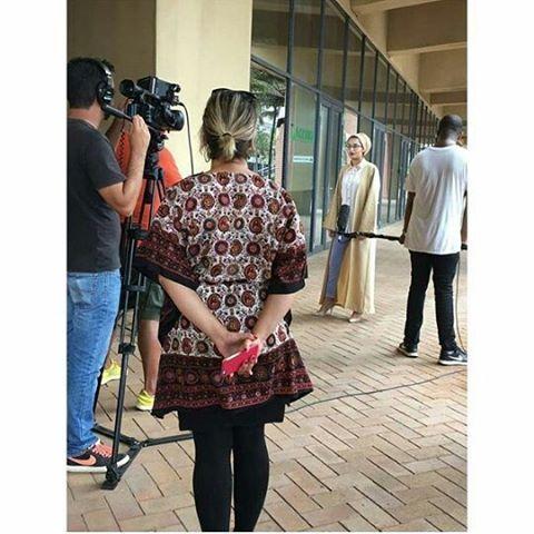 #Repost @hijabi_fashionista22 with @repostapp ・・・ HijabiFashionista...#Photoshoot#Interview#Fblogger#Blogger#Stylist#Teacher#Modelling#AnNur#Local#Hijabi#Modesty#MyLife#SABC3#Islam#Amazing#mrpmystyle