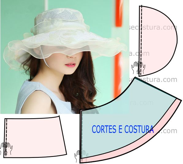 Chapéu feminino para casamento