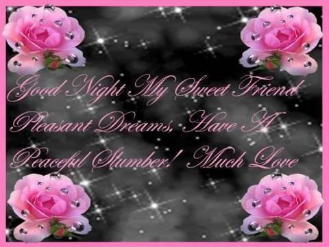 Good Night My Sueet Friend