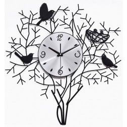 Large Birds In Tree Wall Clock