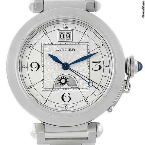 Cartier Pasha Xl Big Date Moonphase Mens Watch W31093m7