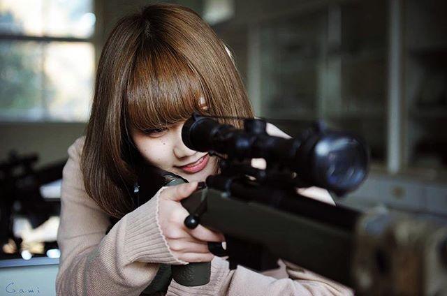 "WEBSTA @ blueswallowtail - Got 5 Tangos… "" The Shooter "" High-school girl  #japon #japan #tokyo #pewpew #sniperrifle #pewpewlife  #308win #remington  #sharpshooter #remington700 #M40 #762nato  #308 #m700 #m40a5  #kac #SR25  #mk11mod0 #XM110 #surefire  #sniper #gungirl #jk #highschool  #highschoolfriends #highschoolgirls  #schoollife #tactical #tacticallife #tacticalgear"
