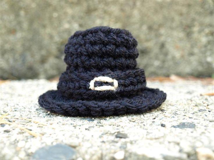 Free Pilgrim Hat Crochet Pattern