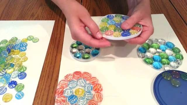 136 best art lesson mothers day images on pinterest for Plastic gems for crafts
