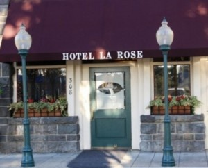 Pack your bags for this overnight getaway for only $197 to $229 for two (that's right - for two!) includes a stage production performance at 6th Street Playhouse; a fifty-dollar dinner certificate; and a one-night stay at the historic Hotel La Rose in Old Railroad Square in Santa Rosa Calif. Call 707-579-3200 for details and reservations.: La Rose
