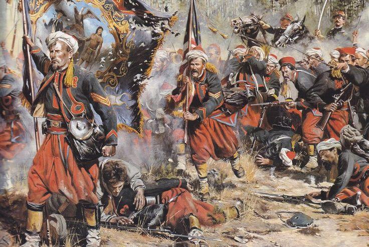 Настоящим триумфом солдат в шароварах стала американская Гражданская война в которой приняли участие 50 зуавских полков и батальонов. Первые американские зуавы появились в 1860 году в Чикаго
