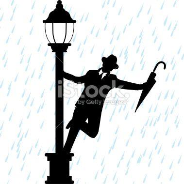 The rain, Silhouette and Rain on Pinterest