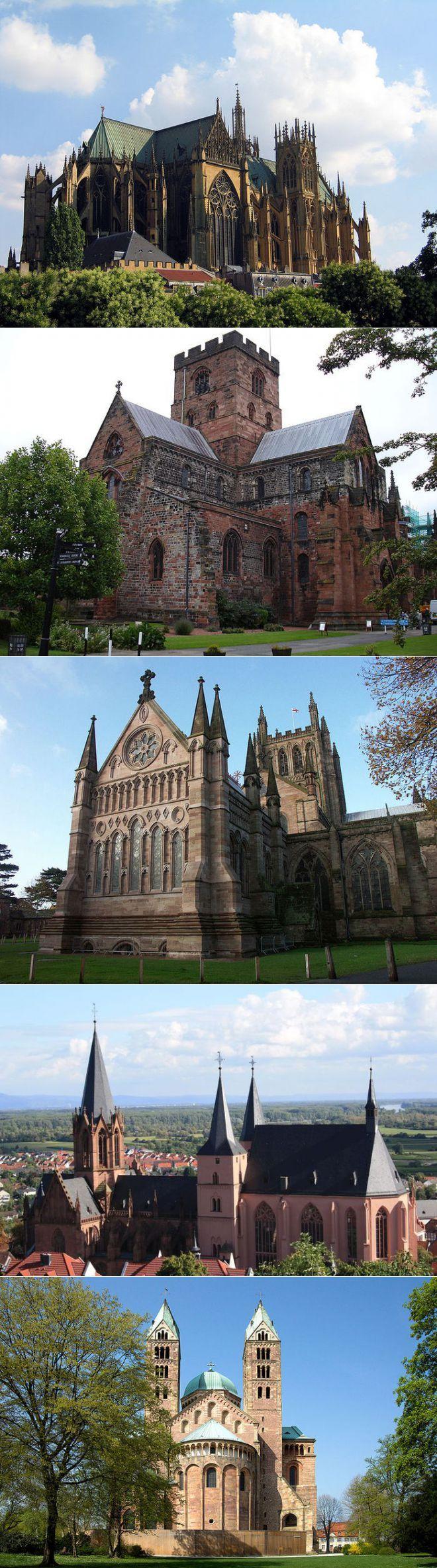 Готическая архитектура — соборы Европы | Замки, дома