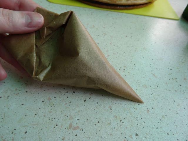 W świecie moich pasji: Jak zrobić szpryckę (rękaw cukierniczy)?