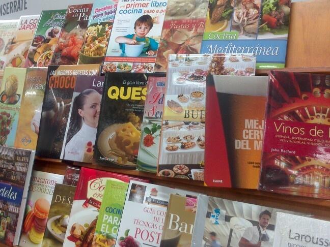 Libros de cocina Filbo 2013