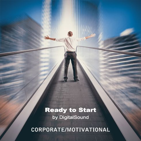 Ready to Start. Category: corporate positive piano. Description: Motivational and corporate track with piano,bass,drums,pad,guitar with delay and strings.Perfect for corporate projects.