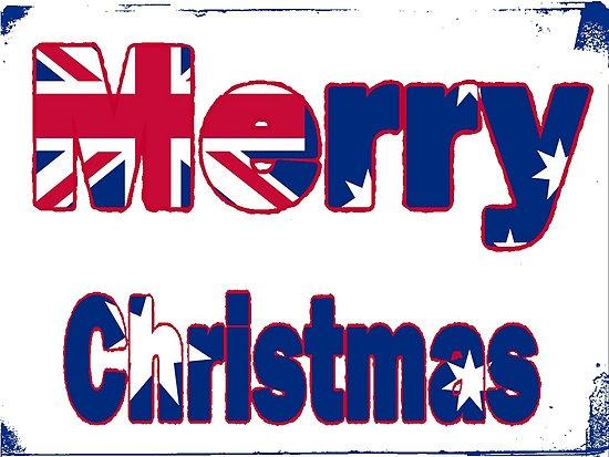 Aussie Flag Christmas Design