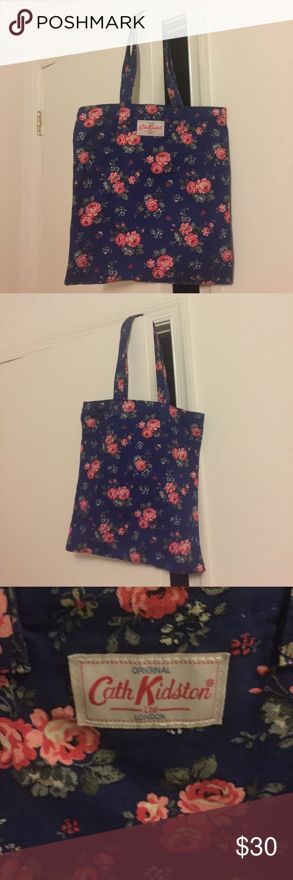 """NWT Cath Kidston Floral Tote • Never worn • 13.75"""" W, 14.5 H • Straps 9"""" • Purchased at Cath Kidston retail store in England Cath Kidston Bags Totes"""