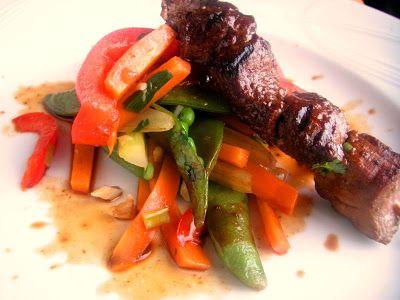 Herkkusuun lautasella-Ruokablogi: Grillatut häränlihavartaat
