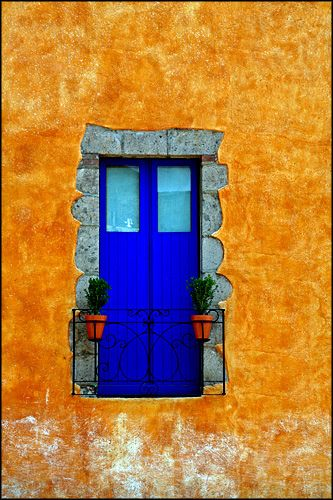 window - Tepoztlan, Mexico