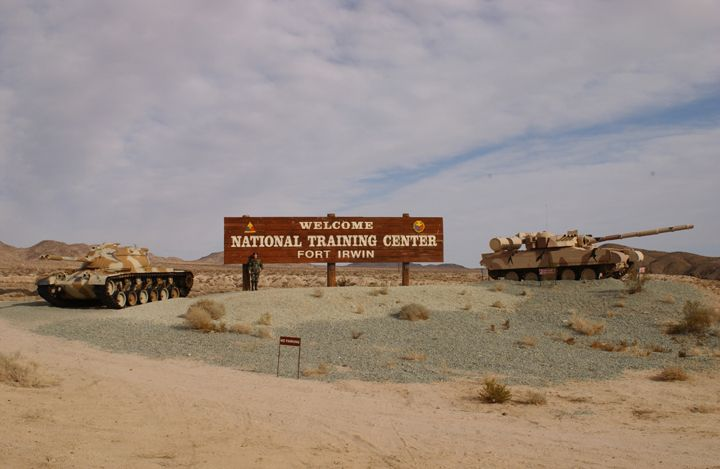 Fort Irwin, California. Ok so it's not really worth visiting but it made the list because I have been there and done that (for far too long!!!!)