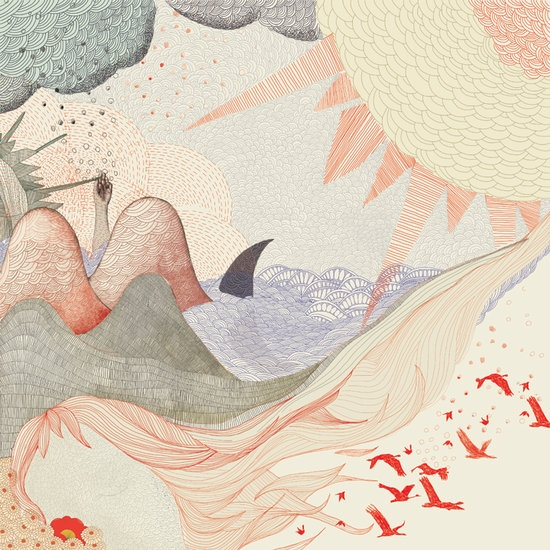 Scalde, beautiful illustrations by Liliwood
