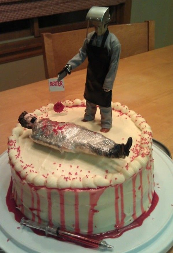 Dexter Cake. So wrong...yet so chillingly right.