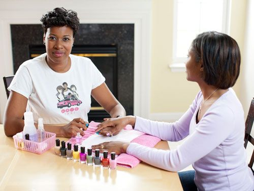 Mobile Nail Salon - How to Become a Nail Technician - Woman's Day