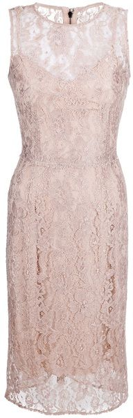 Dolce and gabbana! Lace Dress - Lyst