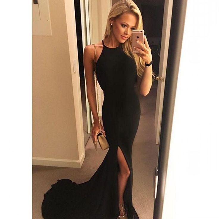Charming Black Mermaid Prom Dress,Long Prom Dresses,Charming Prom Dresses,Evening Dress Prom Gowns, Formal Women Dress,prom dress,F178