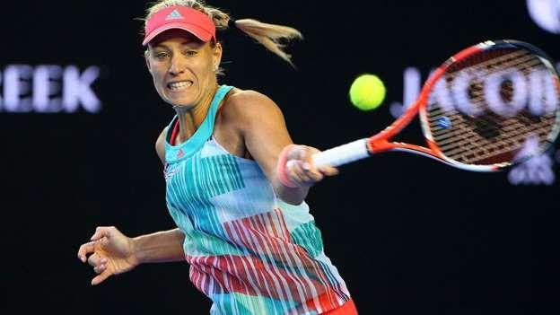 Das Match beginnt gut für Angelique Kerber. Sie findet schneller ins Match als Serena http://www.msn.com/de-de/sport/tennis/kerbers-historischer-sieg-die-besten-bilder/ss-BBoTF3h