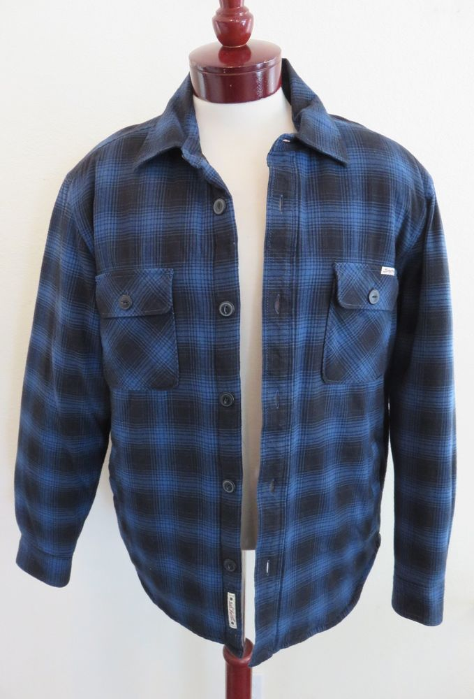 Mens Quilted Flannel Shirts