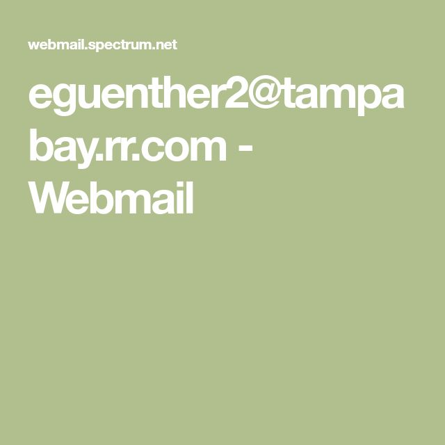 webmail tampabay.rr.com