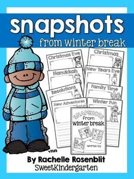 This little freebie is perfect for your students to journal in upon returning to school after winter break! It includes both holiday specific and generic winter fun pages to inspire them to share about their winter breaks! An extra page with lines is included and can be copied on the back side of the pages to provide extra writing room.