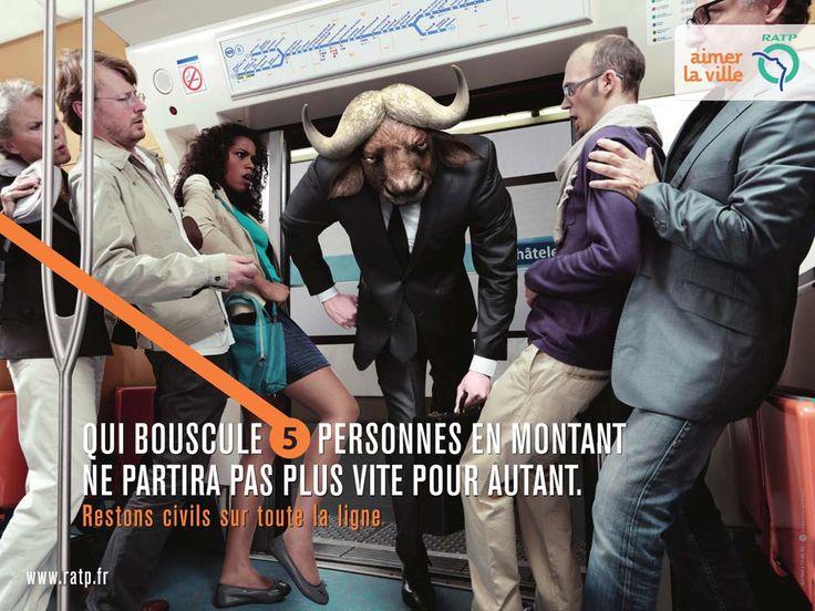 politesse (civisme, train, transport en commun, humour, France)