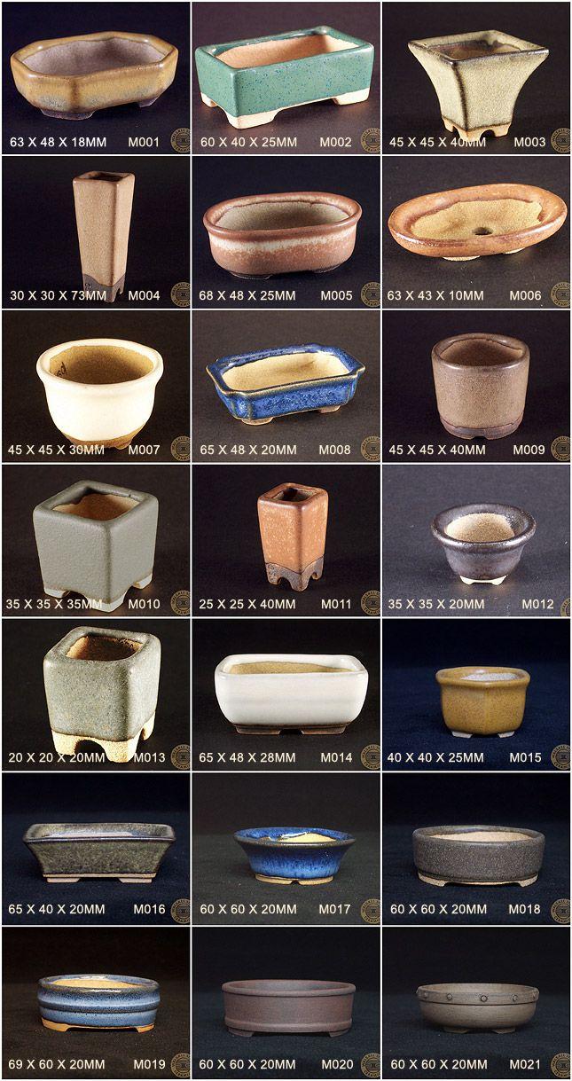 mame-pots-selection