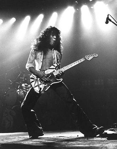 Eddie Van Halen- one of the best guitarists ever!