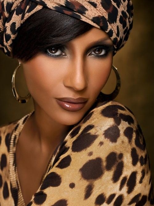 Iman Abdulmajid Somali Model Black Beauty Fashion