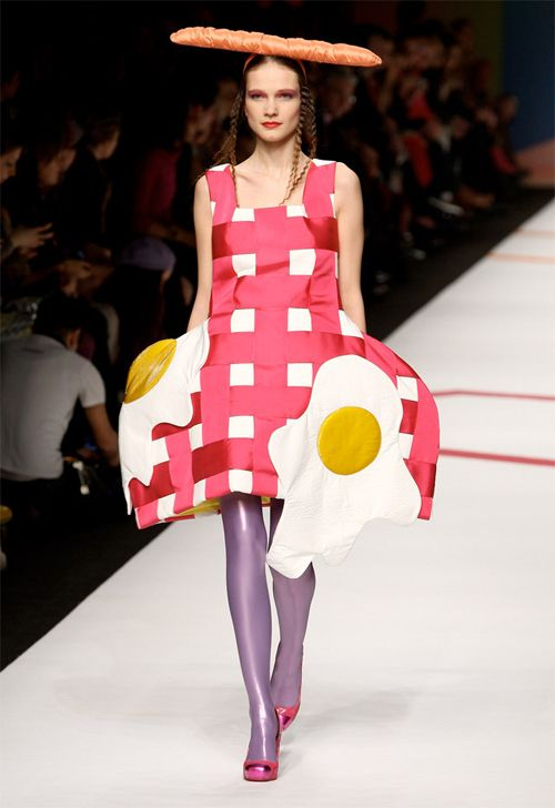 """A dress that takes """"you are what you eat"""" too literally 