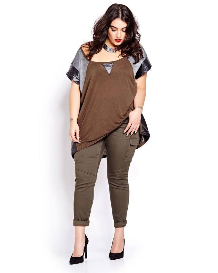 Nadia Aboulhosn - Plus Size Fashion