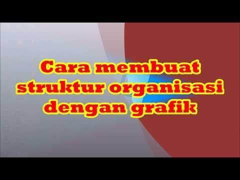 Tutorial Microsoft Word Cara Membuat Struktur Organisasi Dengan Grafik Youtube Struktur Organisasi Organisasi Microsoft
