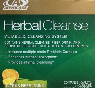 The AdvoCare herbal Cleanse  will help get rid of toxins.