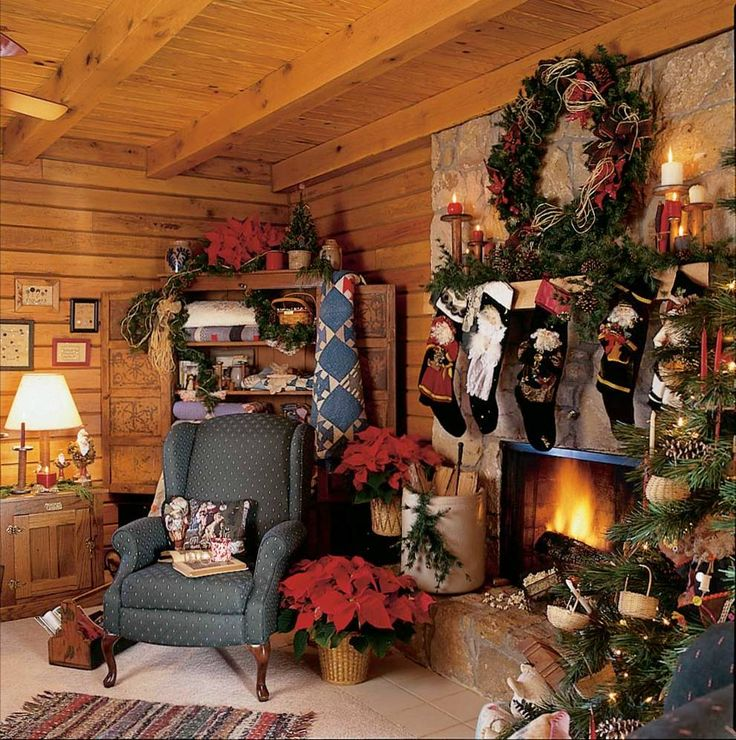 33 Best Christmas Country Living Room Decorating Ideas: Top 316 Ideas About Christmas At The Cabin On Pinterest