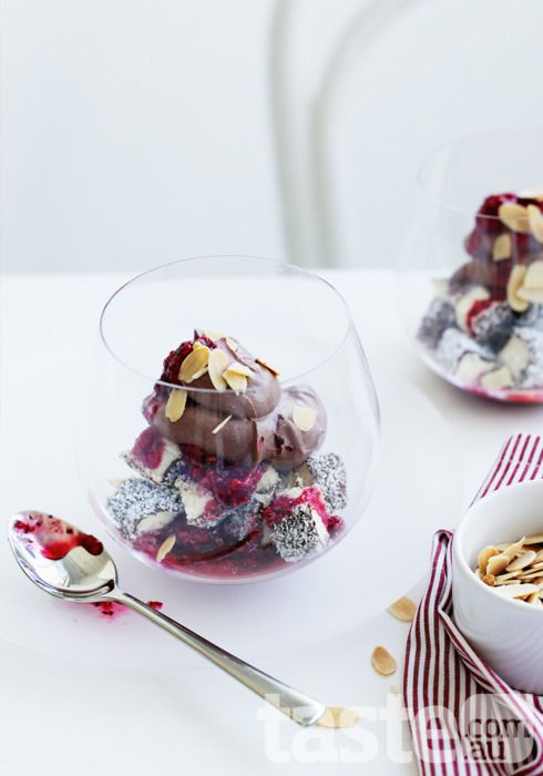 lamington trifle for australia day
